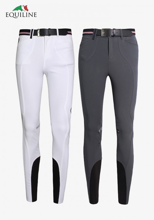 Equiline - Men's Grip Knee-Patch Breeches Racky