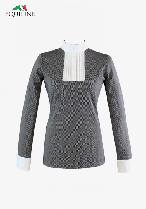 Equiline - Long Sleeve Show Shirt  Patty