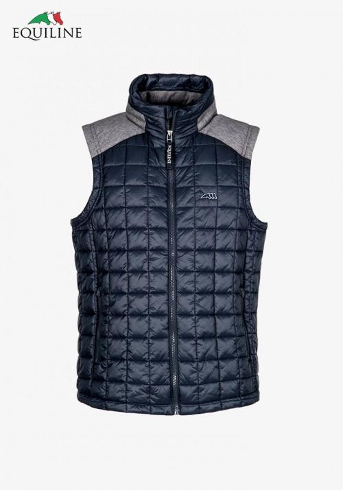Equiline - Men's Padding Vest Eclipse