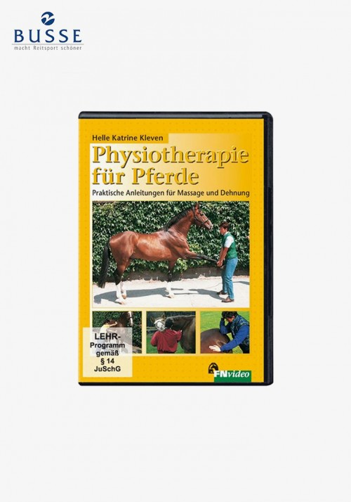 """Busse - DVD """"Physiotherapy for Horse"""""""