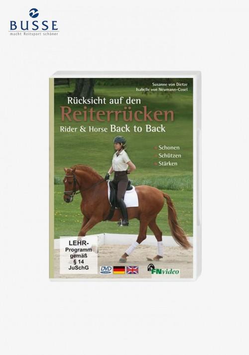 """Busse - DVD """"Rücksicht auf den Reiterrücken""""/Rider & Horse"""