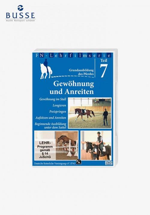 """Busse - DVD FN-Lehrfilm Teil 7 """"Gewöhnung und Anreiten"""""""