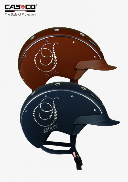 Casco - Dressage Riding Helmet Spirit-6 Crystal Nubuk