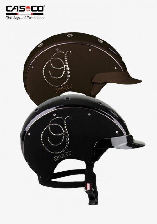 Casco - Dressage Riding Helmet Spirit-6 Crystal