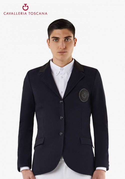 Cavalleria Toscana - Men's CT Varsity Patch Riding Jacket