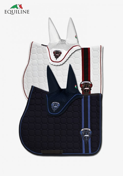 "Equiline - saddle pad ""West"" SET"