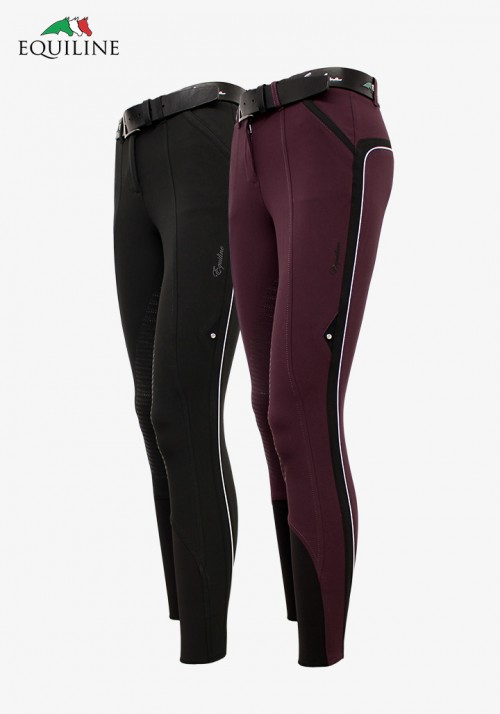 Equiline - Women's Half Grip Breeches Vita