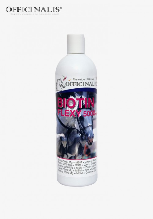 """OFFICINALIS® - """"Flexi Biotin 5000"""" complementary feed"""