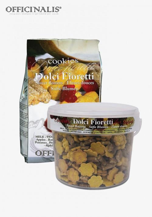 """OFFICINALIS® - Sweet Flowers """"Apples/Raspberries/Camomile"""" cookies"""