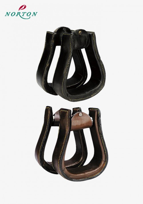 NORTON - Stirrups for Stock saddle