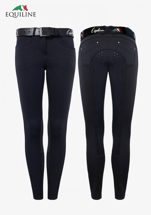 Equiline - Winter girl's and Women's Full Grip Breeches Darma