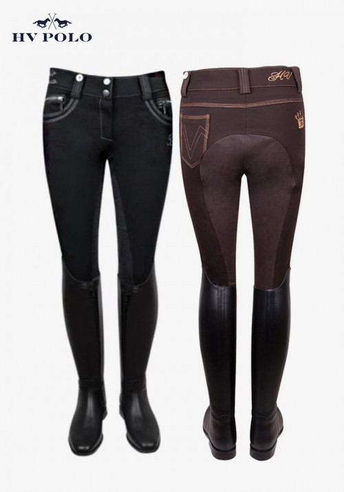 HV Polo - Women's full patch breeches Donaro