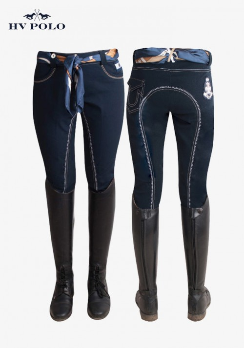 HV Polo - Women's full patch breeches Sosa