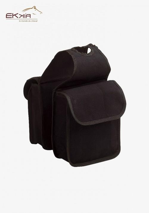 Ekkia - Western pommel saddlebags, small size
