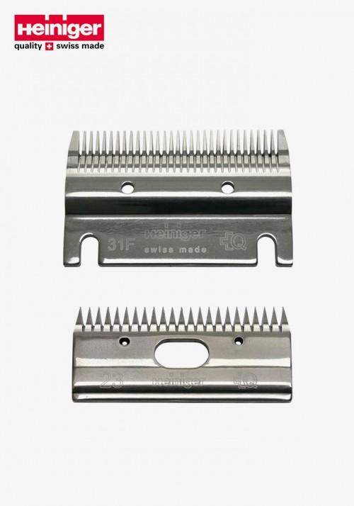 Heiniger - Shear Blade, for ALL, short, 31F/23