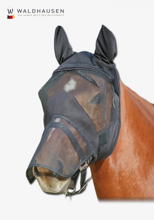 Waldhausen - Premium Fly Bonnet Mask with ear protection