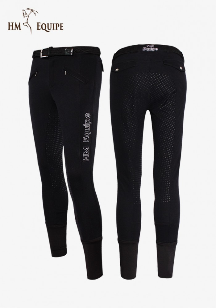 HM Equipe - Men's Winter Soft shell Full Grip Breeches  Ares