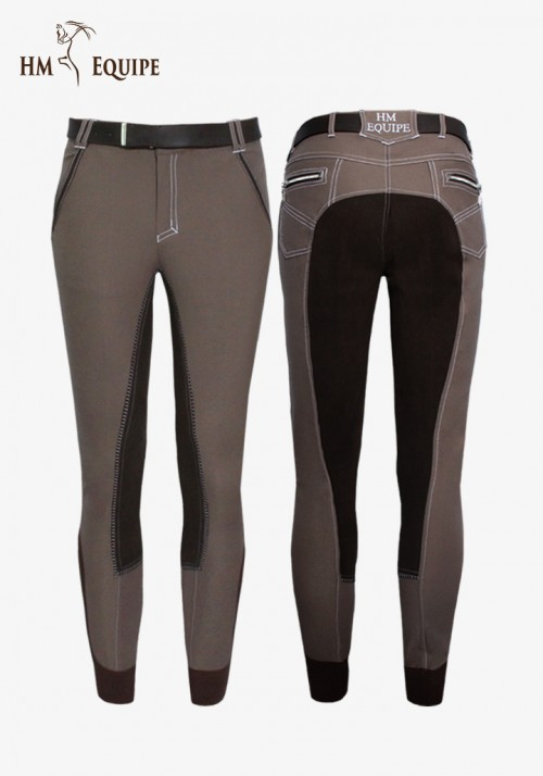 HM Equipe - Men's Full-Seat Breeches Mars