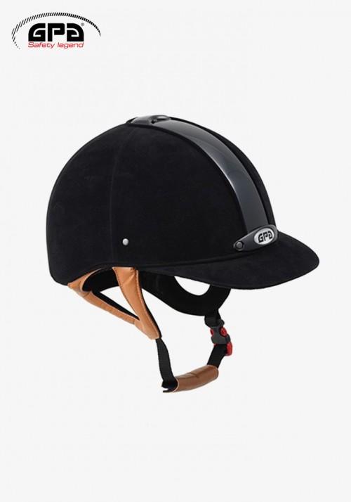 GPA - Riding Helmet Classic Velvet 2X