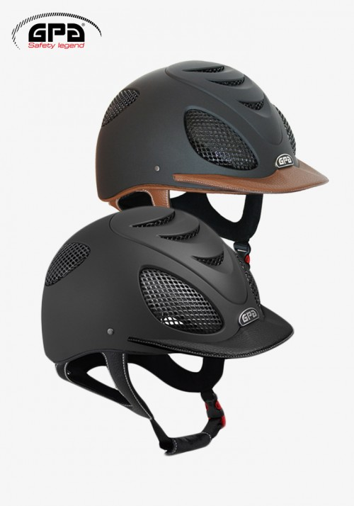 GPA - Riding Helmet Speed'air Leather 2X