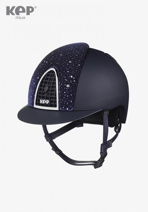 Kep - Riding Helmet Cromo Textile Sparkling Velvet