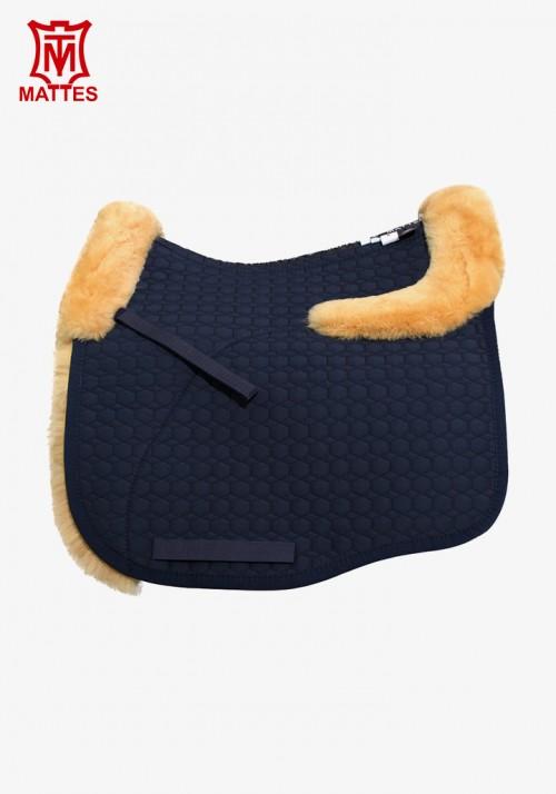 Mattes - Euro-Fit Sheepskin Dressage Saddle Pad